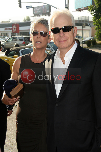 """Jamie Lee Curtis and Christopher Guest<br /> at the """"Flipped"""" Los Angeles Premiere, Arclight, Hollywood, CA. 07-26-10<br /> David Edwards/DailyCeleb.com 818-249-4998"""