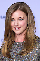 "HOLLYWOOD, LOS ANGELES, CA, USA - MARCH 13: Emily VanCamp at the World Premiere Of Marvel's ""Captain America: The Winter Soldier"" held at the El Capitan Theatre on March 13, 2014 in Hollywood, Los Angeles, California, United States. (Photo by Xavier Collin/Celebrity Monitor)"