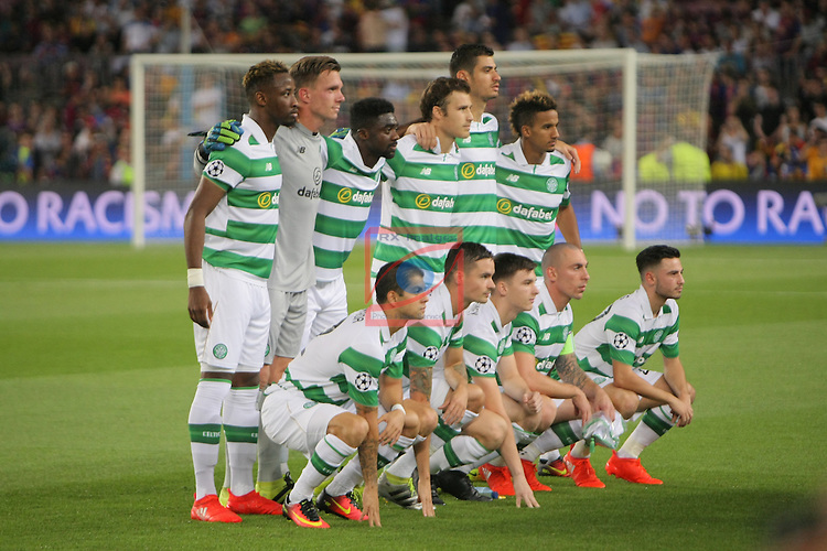 UEFA Champions League 2016/2017 - Matchday 1.<br /> FC Barcelona vs Celtic FC: 7-0.