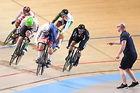 Picture by SWpix.com - 01/03/2018 - Cycling - 2018 UCI Track Cycling World Championships, Day 2 - Omnisport, Apeldoorn, Netherlands - Joe Truman of Great Britain Men's Keirin First Round