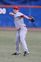 March 9, 2010:  Corey Maines of the Illinois State Redbirds during a game at McKethan Stadium in Gainesville, FL.  Photo By Mike Janes/Four Seam Images