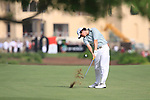 Rory McIlroy plays his 2nd shot on the 10th hole during the Final Day of the Dubai World Championship Golf in Jumeirah, Earth Course, Golf Estates, Dubai  UAE, 22nd November 2009 (Photo by Eoin Clarke/GOLFFILE)