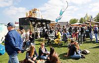 Amsterdam Westerpark. Foodfestival De Rollende keukens. Dim Sum Now