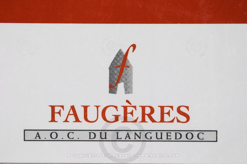 Faugeres, AOC in Languedoc. La Liquiere village. Faugeres. Languedoc. France. Europe.