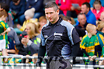 Referee Fergal Horgan at the Kerry Senior Hurling championship before the game.