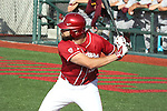 Yale Rosen focuses on the pitcher during the Pac-12 Conference tilt between the Washington State Cougars and the Arizona State Sun Devils at Bailey-Brayton Field in Pullman, Washington, on May 24, 2014.  The Cougars defeated the 21st ranked Sun Devils, 10-7.