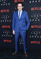 09 April 2018 - Hollywood, California - Zack Estrin. NETFLIX's &quot;Lost in Space&quot; Season 1 Premiere Event held at Arclight Hollywood Cinerama Dome. <br /> CAP/ADM/BT<br /> &copy;BT/ADM/Capital Pictures