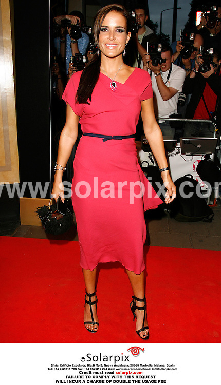 """ALL ROUND PICTURES FROM SOLARPIX.COM..Sophie Anderton arrives for the 2006 TV Quick and TV Choice awards at the Dorchester Hotel, London...DATE: 04/09/2006-JOB REF: 2775-PRS..""""MUST CREDIT SOLARPIX.COM OR DOUBLE FEE WILL BE CHARGED"""""""