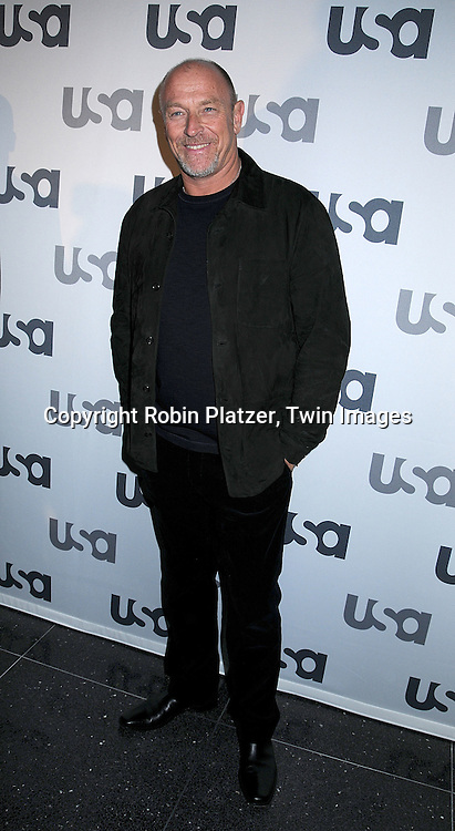 "Corbin Bernsen of ""Psych"".posing for photographers at The USA Network Upfront.on March 26, 2008 at The Modern. ..Robin Platzer, Twin Images"