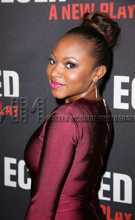 Naturi Naughton attends the 'Eclipsed' broadway opening night after party at Gotham Hall on March 6, 2016 in New York City.
