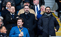Leeds United director of football, Victor Orta, right, watches on<br /> <br /> Photographer Alex Dodd/CameraSport<br /> <br /> The EFL Sky Bet Championship - Hull City v Leeds United - Saturday 29th February 2020 - KCOM Stadium - Hull<br /> <br /> World Copyright © 2020 CameraSport. All rights reserved. 43 Linden Ave. Countesthorpe. Leicester. England. LE8 5PG - Tel: +44 (0) 116 277 4147 - admin@camerasport.com - www.camerasport.com