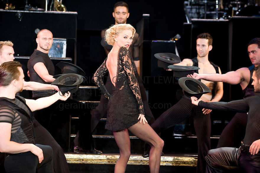Christine Brinkley joins the cast of Chicago. Running at at The Cambridge  Theatre from  12/7/11 CREDIT Geraint Lewis