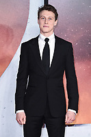 """George Mackay<br /> arriving for the Royal Film Premiere of """"1917"""" in Leicester Square, London.<br /> <br /> ©Ash Knotek  D3543 04/12/2019"""