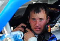 Nov. 15, 2008; Homestead, FL, USA; NASCAR Sprint Cup Series driver Ryan Newman during practice for the Ford 400 at Homestead Miami Speedway. Mandatory Credit: Mark J. Rebilas-