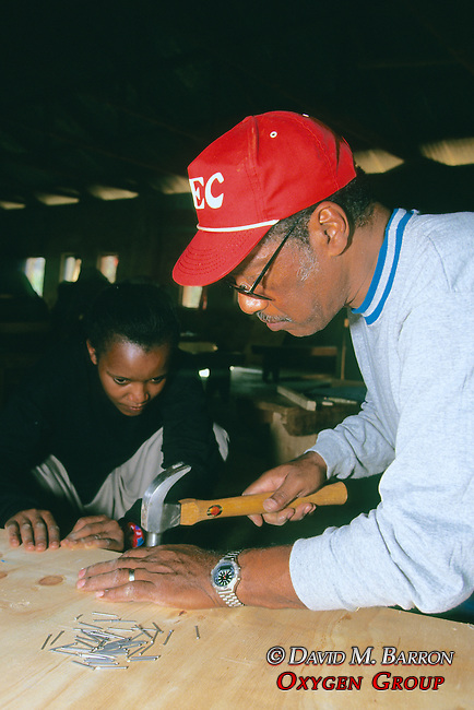Monique Nditu & Bob Building Solar Oven