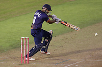 Varun Chopra hits 4 runs for Essex during Glamorgan vs Essex Eagles, Vitality Blast T20 Cricket at the Sophia Gardens Cardiff on 7th August 2018