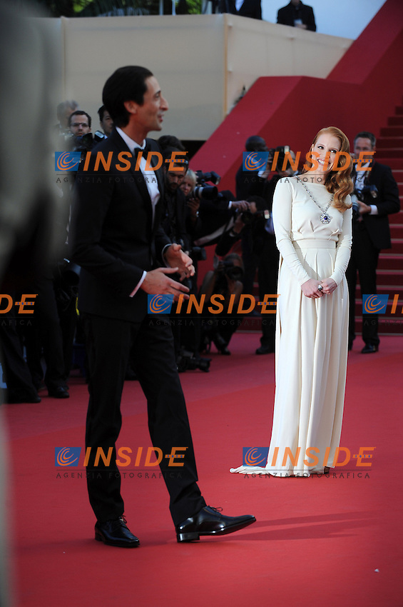 Jessica Chastain. .Cannes 21/5/2013 .66mo Festival del Cinema di Cannes 2013 .Foto Panoramic / Insidefoto .ITALY ONLY
