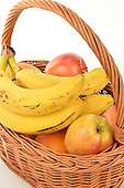 Stock photo of fruit basket