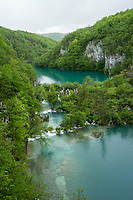 LAKE MILANOVAC, MILKA TRNINA WATERFAL, LAKE GAVANOVIC, Plitvice Lakes NP, Croatia,