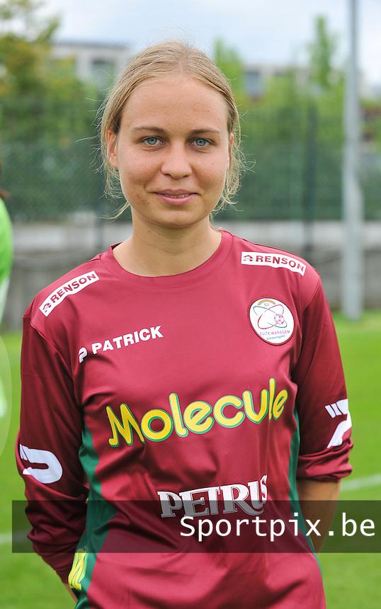 SV Zulte - Waregem Dames : Eva Van Daele.foto DAVID CATRY / Vrouwenteam.be