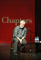 Toronto, ON - April 26, 2007 - Michael Ondaatje in a special appearance at the MacMillan Theatre on April 26th as he reads from and discusses his new novel Divisadero.  Critically acclaimed Canadian <br /> filmmaker Atom Egoyan will interview Ondaatje in a special appearance brought to you exclusively by Indigo Books and Music Inc.