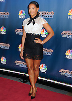 NEW YORK CITY, NY, USA - JULY 29: Mel B, Melanie Brown arrives at the 'America's Got Talent' Season 9 Pre Show Red Carpet Event held at Radio City Music Hall on July 29, 2014 in New York City, New York, United States. (Photo by Celebrity Monitor)