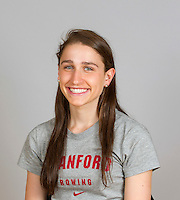 Sarah Hirshorn with Stanford women's rowing ltw team