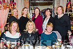Friends Celebrating Women's Christmas at the Stone house on Saturday  Front l-r Berni Boyle, Noreen Walsh, Mary O'Donoghue Back l-r Siobhan Lynch, Clodagh Brosnan, Sharon Brosnan, Joan Naughton, Liz Lennon