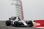Lance Stroll of Canada (18) in action before the Formula 1 United States Grand Prix race at the Circuit of the Americas race track in Austin,Texas.