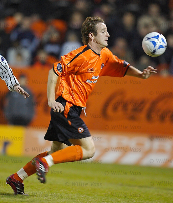Grant Brebner, Dundee Utd.stock season 2005-2006.pic willie vass
