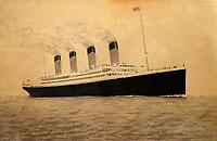 Titanic archive sells