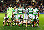 Celtic team group during the Champions League Group C match at the Celtic Park Stadium, Glasgow. Picture date: September 28th, 2016. Pic Simon Bellis/Sportimage