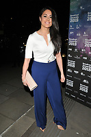 Sam Quek at the Broadcast Awards 2018, Grosvenor House Hotel, Park Lane, London, England, UK, on Wednesday 07 February 2018.<br /> <br /> CAP/CAN<br /> &copy;CAN/Capital Pictures
