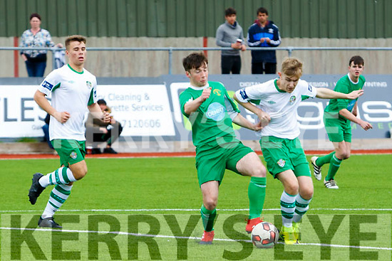 Kerry's Eoin Clifford in action at SSE Airtricity U17 League Kerry  V  Cabinteely at Mounthawk Park on Sunday
