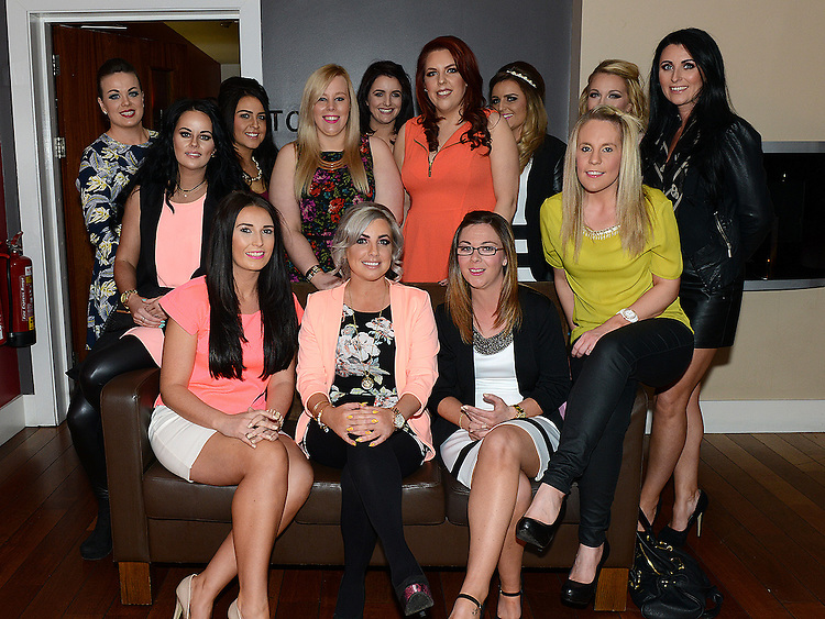 Lizzie O'Connor celebrating her 30th birthday in Brú with friends . Photo:Colin Bell/pressphotos.ie