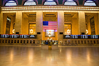 2NEW YORK, NY - APRIL 24: View of Grand Central Station on April 24, 2020 in New York, NY. New York State Governor Andrew Cuomo, during his daily talk on Covid-19, stated that the number of deaths has dropped to its lowest total since April 1. COVID-19 has spread worldwide, causing more than 190,000 lives lost and more than 2.7 million reported infections. (Photo by Pablo Monsalve / VIEWpress via Getty Images)