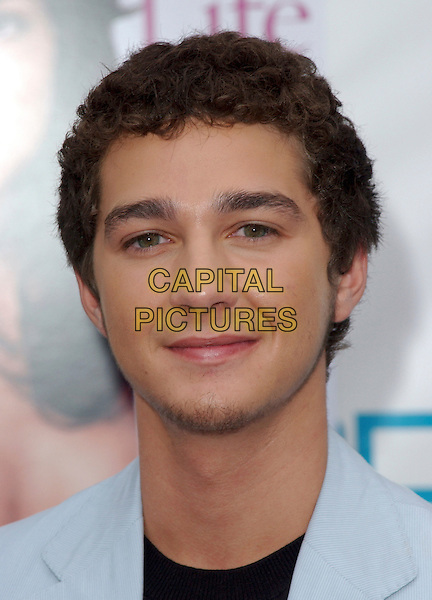 SHIA LeBEOUF.Movieline's Hollywood Life Magazine's 7th Annual Young Hollywood Awards at The Music Box at The Fonda in Hollwyood, California..May 1st, 2005.headshot portrait.www.capitalpictures.com.sales@capitalpictures.com.Supplied By Capital PIctures