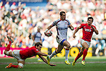 United States vs Argentina during the HSBC Sevens Wold Series Plate Semi Finals match as part of the Cathay Pacific / HSBC Hong Kong Sevens at the Hong Kong Stadium on 29 March 2015 in Hong Kong, China. Photo by Juan Manuel Serrano / Power Sport Images