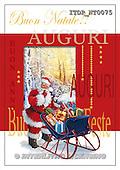 Simonetta, CHRISTMAS SANTA, SNOWMAN, paintings, ITDPNT0075,#X# Weihnachtsmänner, Schneemänner, Weihnachen, Papá Noel, muñecos de nieve, Navidad, illustrations, pinturas