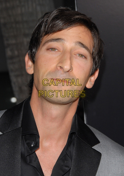 "ADRIEN BRODY.The ""Hollywoodland"" Premiere held at The Academy of Arts and Science in Beverly Hills, California on .September 7th, 2006.Ref: DVS.headshot portrait.www.capitalpictures.com.sales@capitalpictures.com.©Debbie VanStory/Capital Pictures"