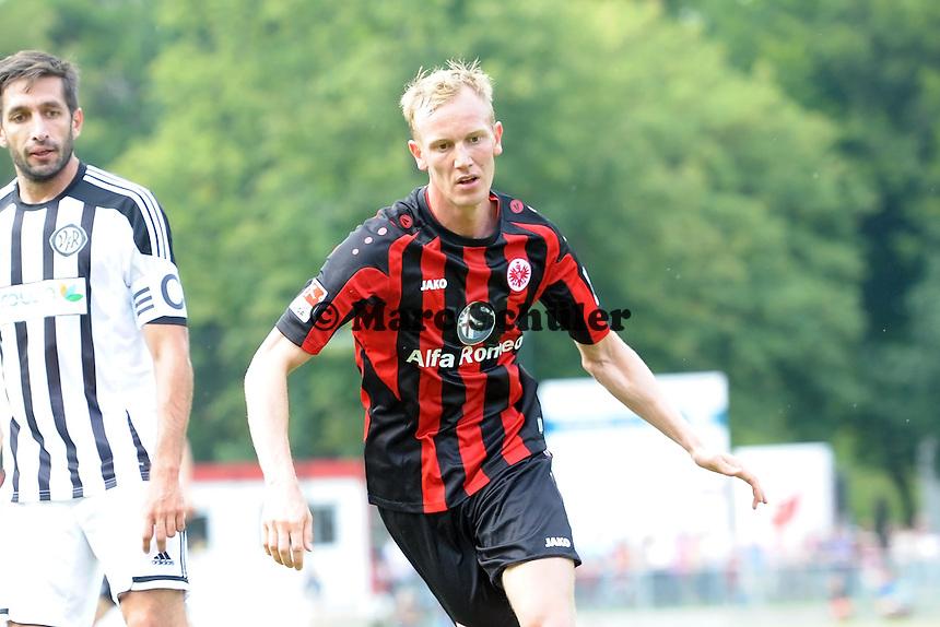 Jan Rosenthal (Eintracht) - Eintracht Frankfurt vs. VfR Aalen