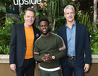 "30 October 2018 - Beverly Hills, California - Bryan Cranston, Kevin Hart, Neil Burger. ""The Upside"" Photo Call held at The Four Seasons at Beverly Hills . Photo Credit: Birdie Thompson/AdMedia"