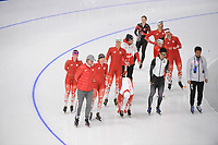 OLYMPIC GAMES: PYEONGCHANG: 09-02-2018, Gangneung Oval, Training session, Team Poland, ©photo Martin de Jong