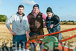 Colm Dineen, Nial O'Halloran and Liam Dineen, Causeway at the Abbeydorney Ploughing Match  at Corridan's Farm, Ballysheen on Sunday