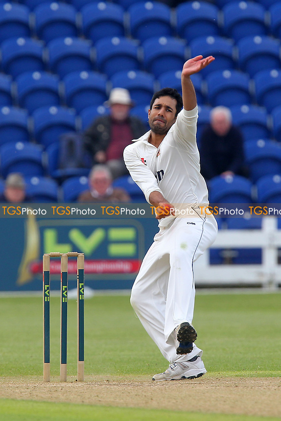 Ravi Bopara in bowling action for Essex - Glamorgan CCC vs Essex CCC - LV County Championship Division Two Cricket at the Swalec Stadium, Cardiff, Wales - 17/05/13 - MANDATORY CREDIT: Gavin Ellis/TGSPHOTO - Self billing applies where appropriate - 0845 094 6026 - contact@tgsphoto.co.uk - NO UNPAID USE.