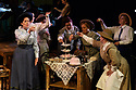 Cardiff, UK. 04.06.2018. Welsh National Opera's &quot;Rhondda Rips It Up!&quot; in dress rehearsal, at the Wales Millennium Centre, Cardiff. <br /> &ldquo;Rhondda Rips It Up!&rdquo; is centred on the life and adventures of that unsung heroine of the Welsh Suffrage movement, Margaret Haig Thomas, the Viscountess Rhondda.<br /> Suffragette, activist and entrepreneur, Lady Rhondda paved the way for the equal rights for women. As well as campaigning tirelessly for women&rsquo;s suffrage, she became the lightning rod for women&rsquo;s efforts during WW1, survived the sinking of the Lusitania and created the radical feminist magazine Time and Tide. Her indefatigable efforts and endeavours were finally rewarded when, in 1918, women over the age of thirty were enfranchised.<br /> This thigh-slapping romp through the world of suffrage and song is told through the lens of music-hall and fittingly sports an all-female cast and creative team. The audience is guided through the story by Emcee (Lesley Garrett) following the escapades of Lady Rhondda (Madeleine Shaw) and her brave battalion of suffragettes as they fearlessly takes on Peers, politicians and post-boxes in their struggle for women&rsquo;s rights.<br /> WNO will showcase this woman&rsquo;s fight for liberty, survival and equality in a number of ways: from community events, talks and schools workshops to exhibitions, interactive digital experiences as well as the production itself.<br /> The production will have its World Premiere in Newport before touring throughout June 2018, with an Autumn tour in October and November to follow. The production will tour to Newport, Birmingham, Carmarthen, Cardiff, Brecon, London, Malvern, Treorchy, Newtown, Swansea, Oxford, Bangor, Swindon, Northampton, Mold, and Winchester.<br /> <br /> Photograph &copy; Jane Hobson.