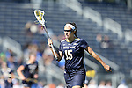 DURHAM, NC - FEBRUARY 26: Notre Dame's Cortney Fortunato. The Duke University Blue Devils hosted the University of Notre Dame Fighting Irish on February, 26, 2017, at Koskinen Stadium in Durham, NC in a Division I College Women's Lacrosse match. Notre Dame won the game 12-11.