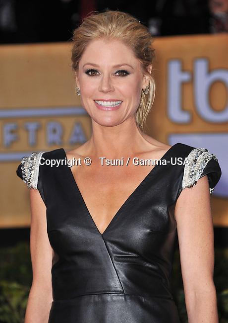 Julie Bowen   the 19th Ann. SAG Awards 2013 at the Shrine Auditorium In Los Angeles.