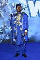 "John Boyega<br /> arriving for the ""Star Wars: The Rise of Skywalker"" premiere at the Cineworld Leicester Square, London.<br /> <br /> ©Ash Knotek  D3545 17/12/2019"