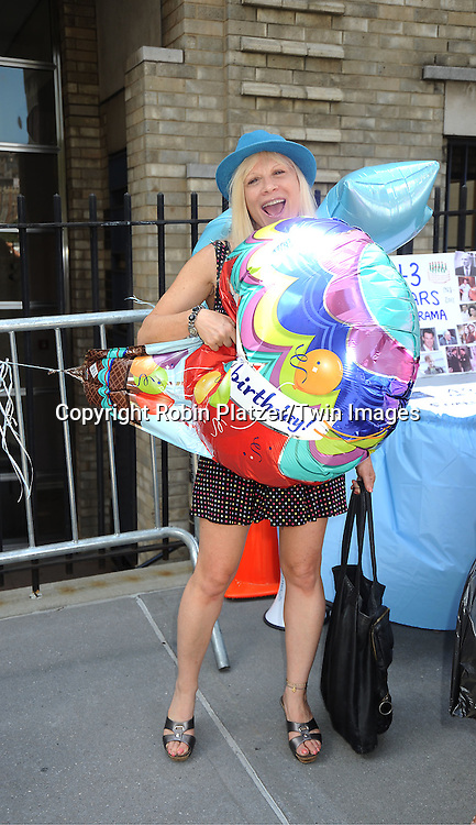 Ilene Kristen attending The One Life to Live..43rd Anniversary Block Party outside the ABC Studio on July 15, 2011 in New York City. ..photo by Robin Platzer/ Twin Images..212-935-0770